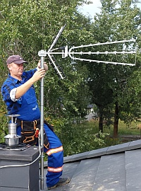 Serwis ustawianie monta anten naziemnych dvb t legionowo niepor t jab onna marki warszawa - Comment bien orienter son antenne rateau ...